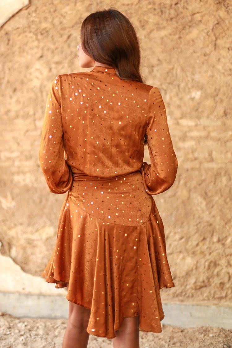 vestido caldera naranja valeria sexy 3