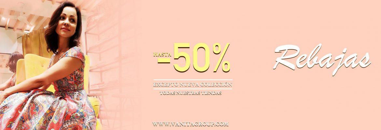 rebajas hasta el -50% ropa de mujer